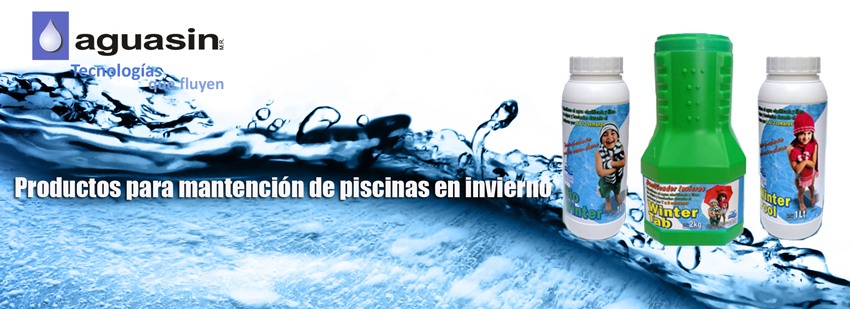New line of products for maintenance of swimming pools in winter