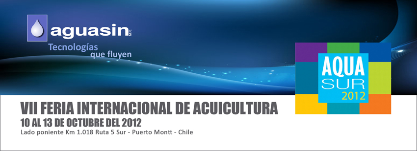 Aguasin participated in AQUA SUR 2012